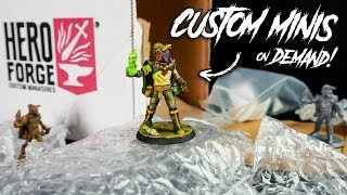 Making and Painting Custom Miniatures with @Hero Forge