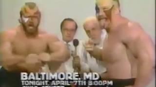 NWA World Championshp Wrestling  * 80's *