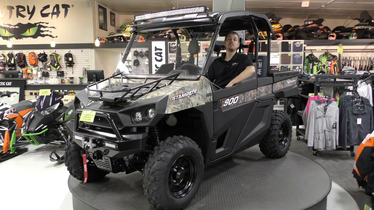 Country Cat Bad Boy Offroad Stampede 900 By Textron