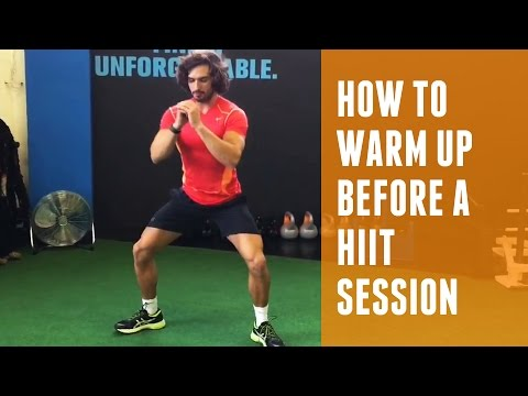 How to warm-up before a HIIT session | The Body Coach