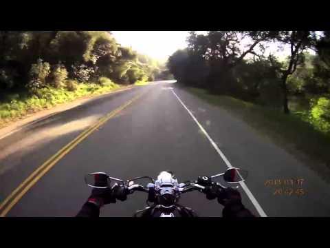 Rich Rides LA: Ride Over Topanga Canyon to Malibu on a Harley!