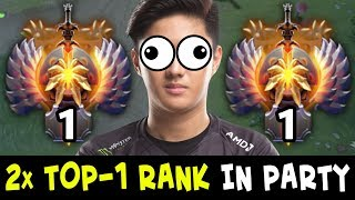 2x TOP-1 RANK in ONE TEAM — Abed INVOKER + ChYuaN