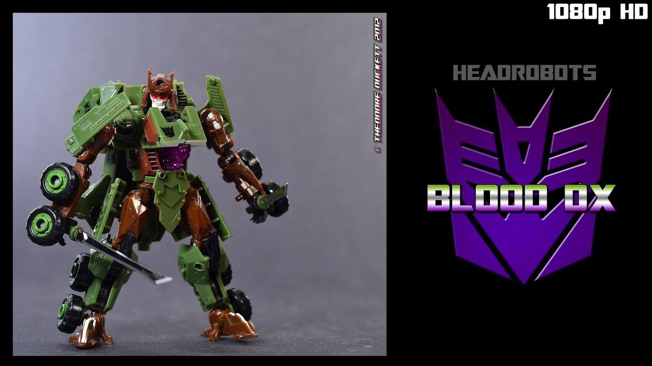 Headrobots Blood DX The DX Dark Warrior Upgrade Kit