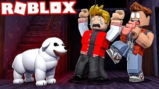 THE SCARY STORY OF THE EVIL DOG IN THE ROBLOX!