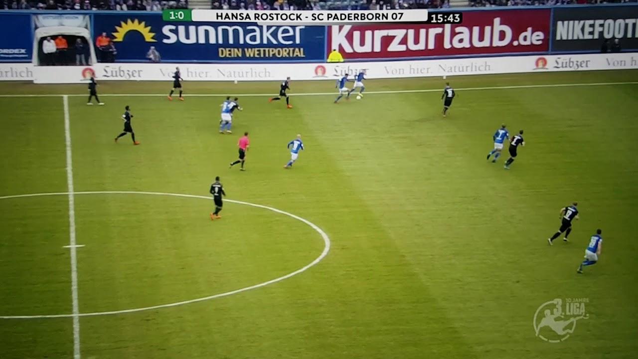 Paderborn Hansa Rostock