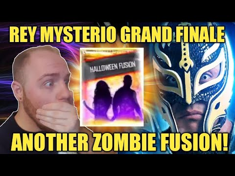 REY MYSTERIO GRAND FINALE! ANOTHER ZOMBIE FUSION! SS18 PLATINUM PACK + MORE Noology WWE SuperCard S4