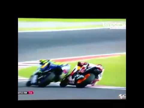 Rossi vs marquez motogp argentina