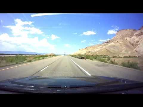 Denver, Colorado to Salt Lake City, Utah Time Lapse