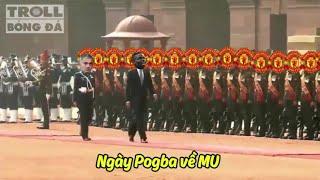 Bản tin Troll Bóng Đá số 38: Ngày về tràn trề dollar của Pogba!