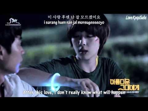 [Karaoke Instrumental w/ Backup Vocals] Taeyeon - Closer MV [Eng + Rom + Hangul] HD