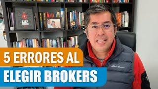 5 Errores al elegir un Broker en medio de la Crisis 2020 #Tradingdesdecasa