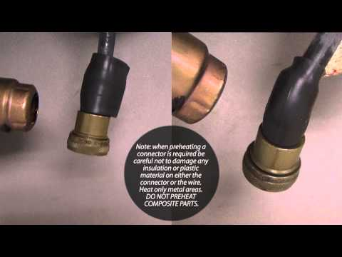 Glenair Heat Shrink Boot Installation Procedure