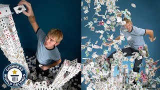 How I became the world's best card stacker - Guinness World Records