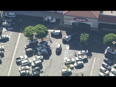 Đánh phụ nữ, một ông bị bắn chết trước siêu thị Ralphs ở Garden Grove