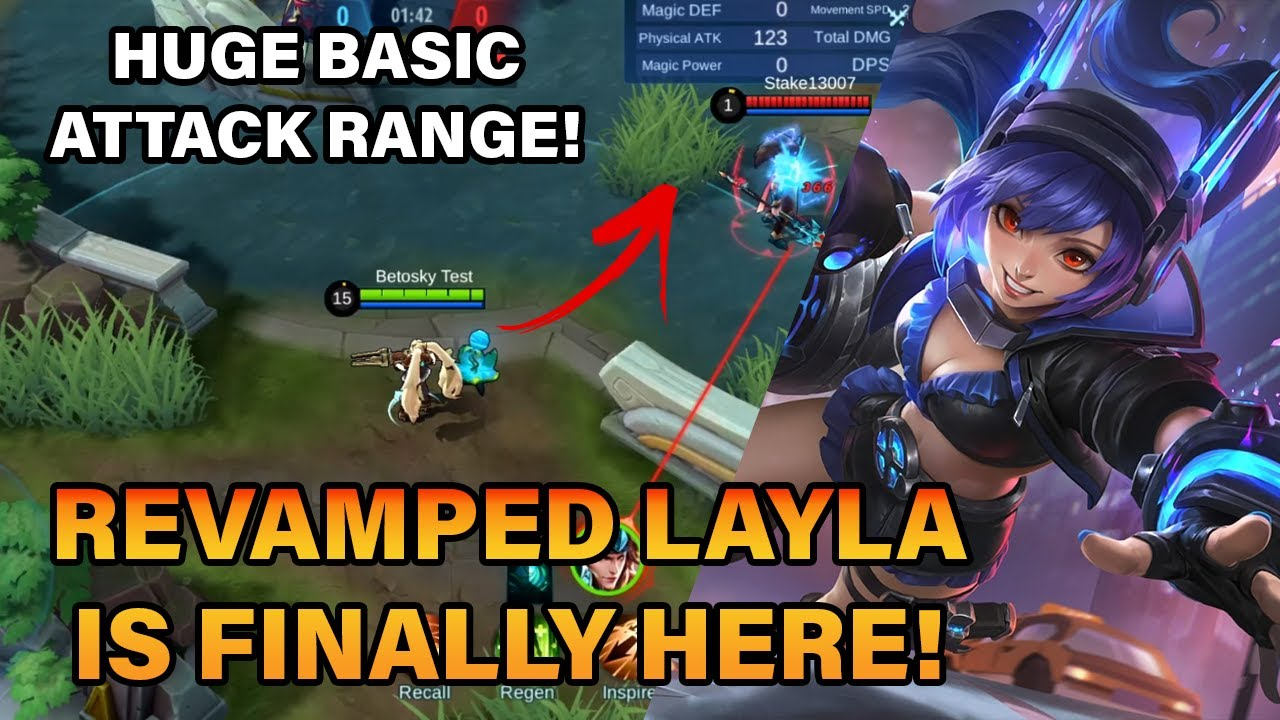 REVAMPED LAYLA IS FINALLY HERE! | MLBB