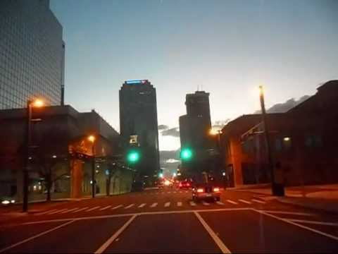 Tampa Florida Drive Thru Downtown Roof Cam