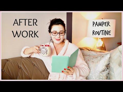 AFTER WORK PAMPER EVENING ROUTINE