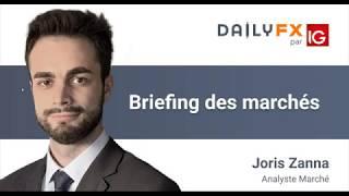 Briefing des marchés du 10 février 2020 - Indices - Forex - Gold - Brent - Bitcoin