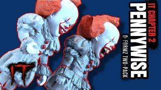 Diamond Select IT Chapter 2 D-Formz Pennywise Two-Pack | Video Review