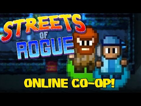 Streets of Rogue Co-op Online | Episode 1: Beetle Bum and the Crepe [Streets of Rogue Coop Gameplay]