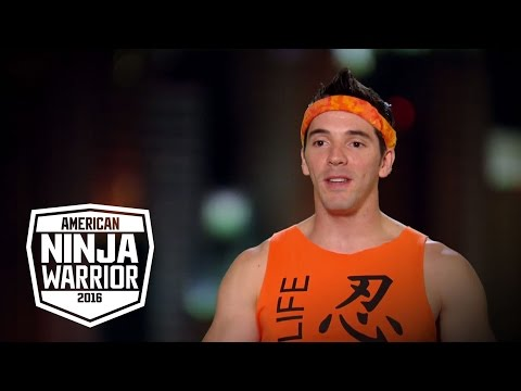 Drew Drechsel is the Real Life Ninja | American Ninja Warrior