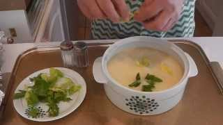 Avgolemono - Egg And Lemon Soup With Chicken - Stavros' Kitchen - Greek And Cypriot Cuisine