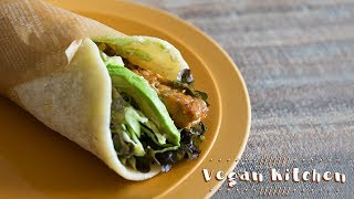 Avocado and Tempeh Salad Wrap   Ayano hayasaki's Recipe Transcription