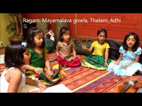Kids carnatic vocal