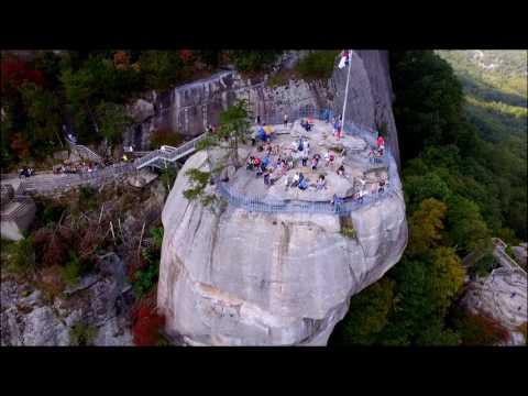 Drone Tour - Lake Lure & Chimney Rock, NC