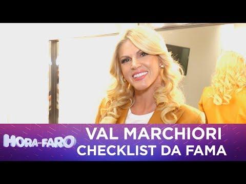 Val Marchiori responde tudo no Checklist da Fama