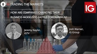 How are companies changing their business models to battle coronavirus? | Trading the markets