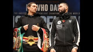 Usyk vs Bellew main event press conference