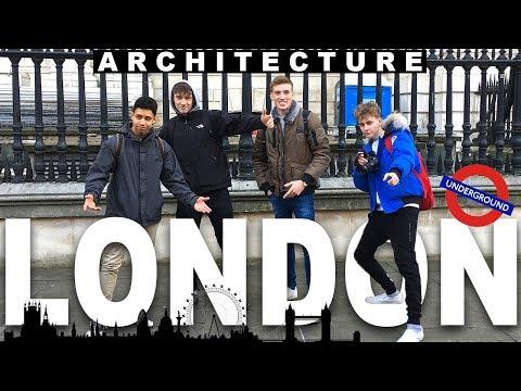 LONDON VLOG | Architecture Study Trip