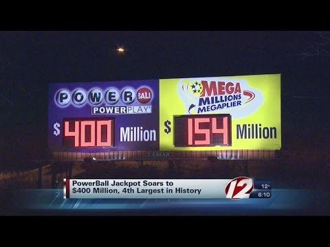 Powerball Jackpot Again Reaching Record Levels