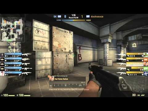 eGaming 2014 - CS:GO Finals - 5k VS ducksauce Game 2
