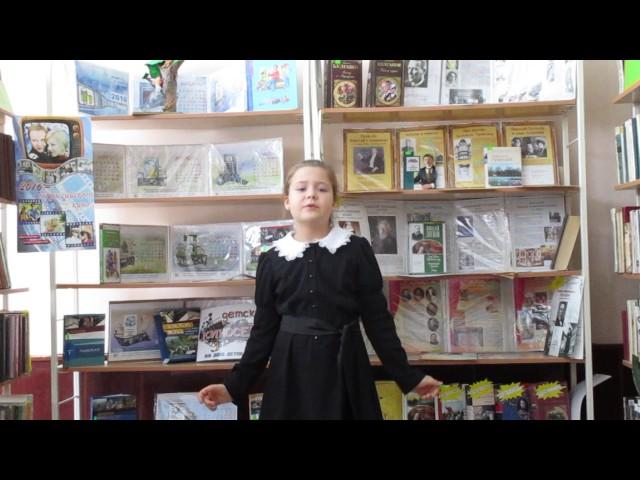 Изображение предпросмотра прочтения – АринаСущенко читает произведение «Ворона и Лисица» И.А.Крылова