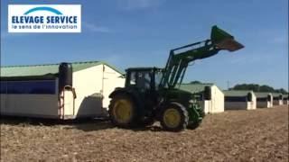 Bâtiments d'élevage mobiles & déplaçables