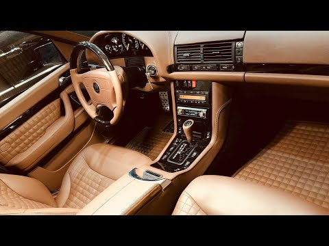 Мерседес W140 S-class BRABUS 7.3 Кабан Восстановление салона