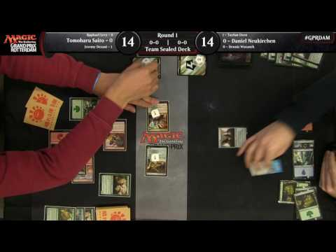 Magic the Gathering Grand Prix Rotterdam Round 1
