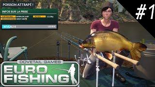 Euro Fishing Découverte d'un jeu de pêche EN LIVE