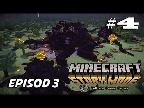 Minecraft Story Mode    Gabriell DAH Hilangg INGATAN ?? EPISOD 3 #Akhir