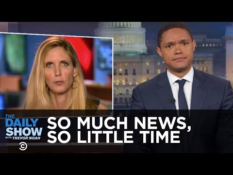 Thumbnail: So Much News, So Little Time - Obama on Wall Street, Ann Coulter & a Senate Briefing: The Daily Show