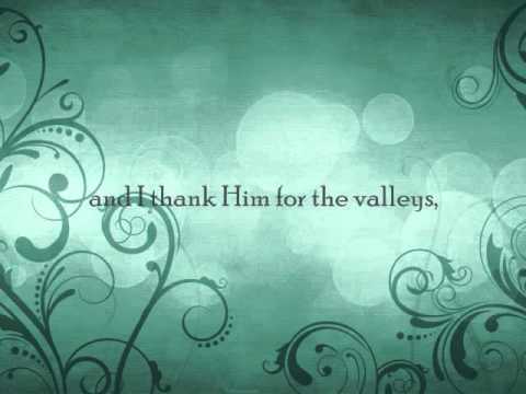 Through It All - Andrae Crouch (lyric video)