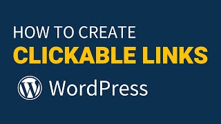 Video How To Create Clickable Links on WordPress (Clickable Hyperlinks) download MP3, 3GP, MP4, WEBM, AVI, FLV Juni 2018