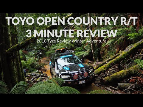 Toyo Open Country R/T 3 Minute Review - Tyre Review Winter Adventure 2018