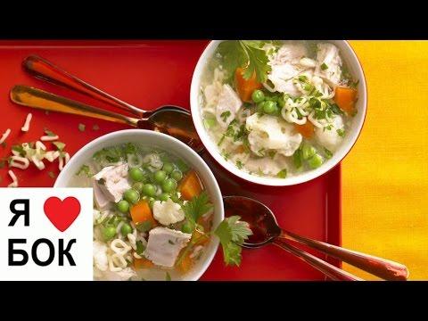 Рецепт: Классический рисовый суп на курином бульоне на
