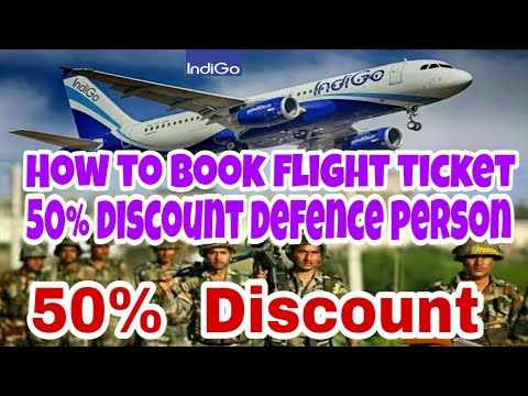 How to  book  flight ticket with 50% discount  defance job person...  Make my trips ,paytam .......?