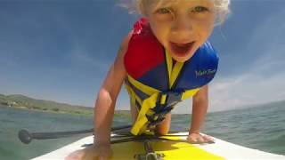 GoPro:  Paddle Boarding at Bear Lake