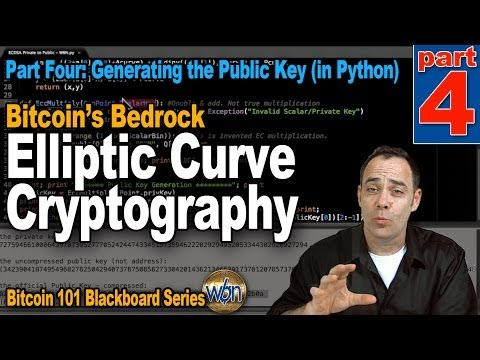 Bitcoin 101 - Elliptic Curve Cryptography - Part 4 - Generating The Public Key (in Python)