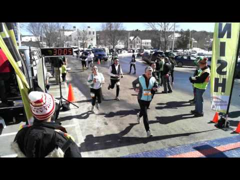 Shamrock Shuffle 5k, Lebanon, NH, 3/18/2017
